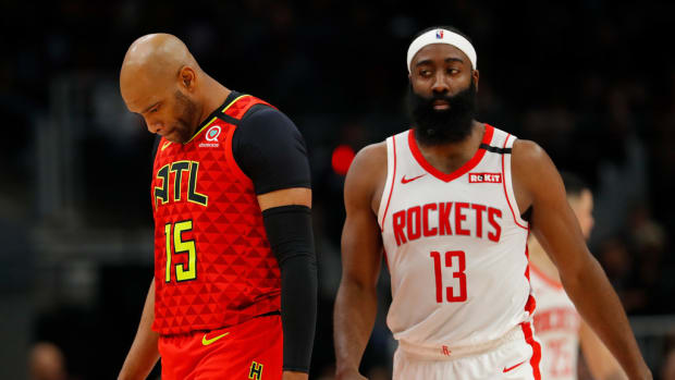 Vince Carter: 'I Know James Harden Doesn't Want To Be There, He Is Doing Everything He Can To Get Moved, But James, Just Come To Work, Be A Model Citizen, So They Can Get Value For You.'