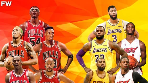 The Game Everyone Wants To Watch: Team Jordan vs. Team LeBron