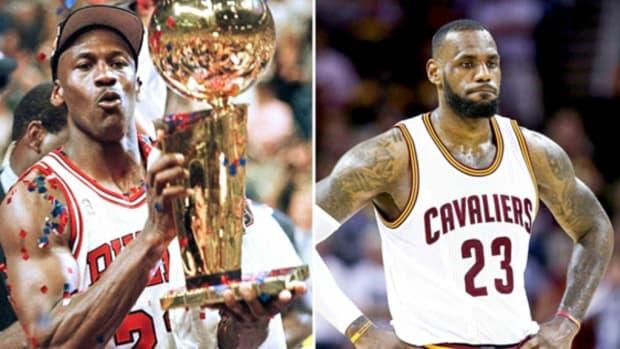 Michael Jordan vs. LeBron James