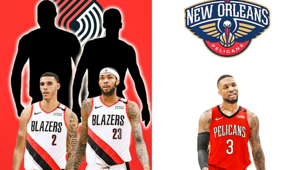 The Blockbuster Trade Idea: The Pelicans Can Land Damian Lillard For A Trade Package The Trail Blazers Can't Refuse