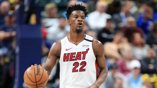 """Jimmy Butler On His Fourth-Quarter Takeover: """"Say What You Will, But I Told My Teammates I Probably Wasn't Going To pass The Ball. I Made A Couple Of Shots And They Said, 'That's Fine With Me.'"""""""
