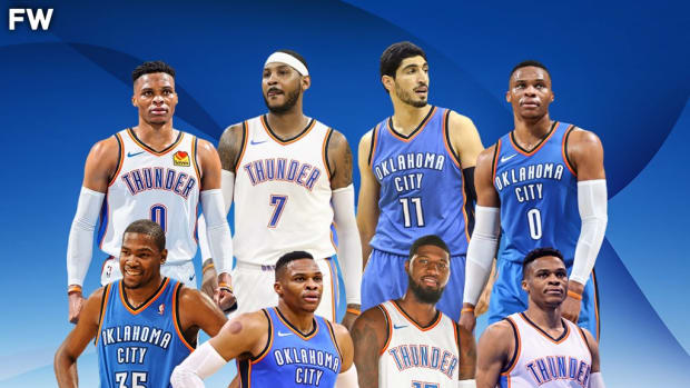 Kevin Durant, Paul George, Carmelo Anthony, And Enes Kanter Defend Russell Westbrook From Being Called A Bad Teammate