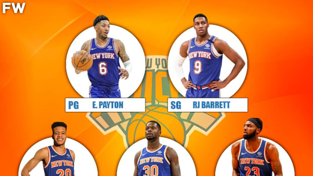The 2020-21 Projected Starting Lineup For The New York Knicks