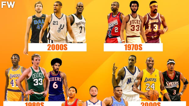 The Greatest NBA Era For Every Position