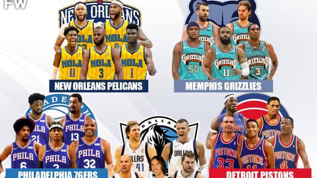 5 Legendary Superteams That No One Would Beat: 76ers, Pistons, Pelicans, Mavericks, Grizzlies