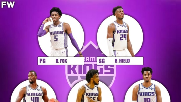The 2020-21 Projected Starting Lineup For The Sacramento Kings