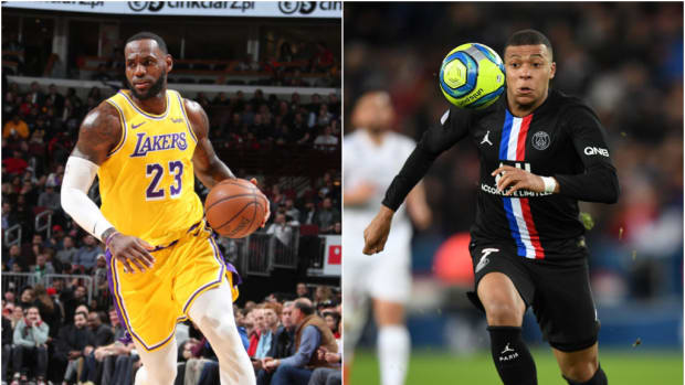 LeBron James And Kylian Mbappe Exchange Profile Pics Amid Rumors Of A Sneaker Collaboration
