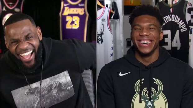 """Charles Barkley To LeBron James: """"Giannis Should Trade Everyone On His Bench For Anthony Davis"""""""