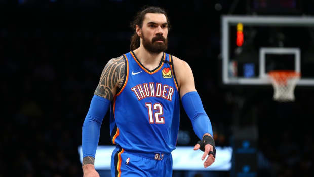 """Steven Adams On If He'll Miss His Thunder Teammates: """"Not Like I Died Or Anything, I'm Going To See Them Again"""""""