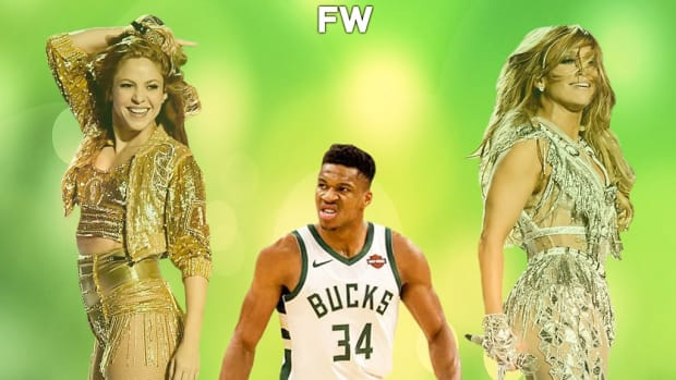 Giannis Antetokounmpo: 'I Heard Shakira And JLo Are Not Performing Because It's The Weekend... They Don't Work On Sunday?'