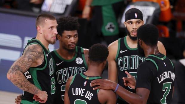 Boston Celtics React To Marcus Smart Locker Room Incident