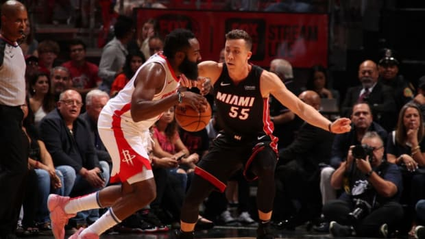 NBA Rumors: The Houston Rockets Probably Want Tyler Herro And Duncan Robinson In Any Deal For James Harden