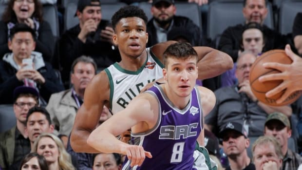 """Brian Windhorst: """"Bogdan Bogdanovic Wants To Play For The Bucks... He Was In Contact With Giannis Antetokounmpo, This Is What He Wants, We'll See What Happens."""""""