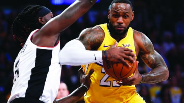 Montrezl Harrell Seems To Agree With Mo Speights' Claims About LeBron James' Fourth Title In 10 Tries