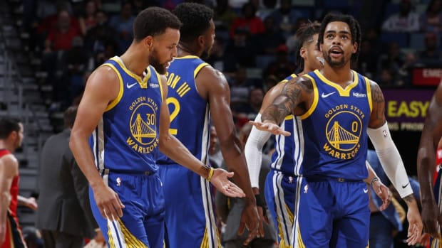 """John Hollinger Jokes About Curry MVP Season: """"How Can You Say Curry Is The Most Valuable Player When The Most Valuable Warrior This Season Has Been D'Angelo Russell?"""""""