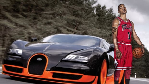 Top 15 Most Expensive Cars Of NBA Players Derrick Rose