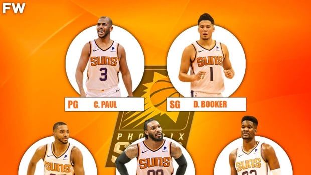 The 2020-21 Projected Starting Lineup For The Phoenix Suns