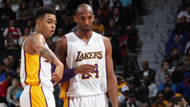 """D'Angelo Russell Recalls Crucial Advice Kobe Bryant Gave Him When They Were Teammates: """"Think About What You Want To Do When You're Done Playing And Work On It Now So When The Basketball's Done For You, You've Already Built A Brand"""""""