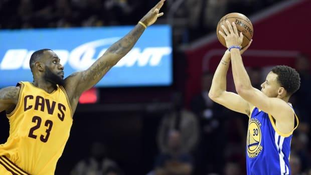 Curry vs. LeBron