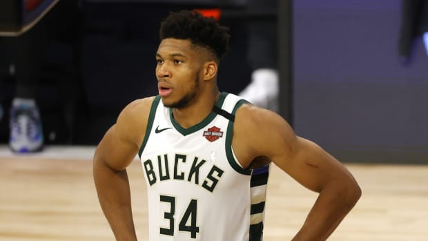 """Richard Jefferson Calls Out Giannis After Admitting He didn't Want To Switch On Jimmy Butler: """"You Are The Defensive Player Of The Year And Jimmy Just Had A Career High 40."""""""