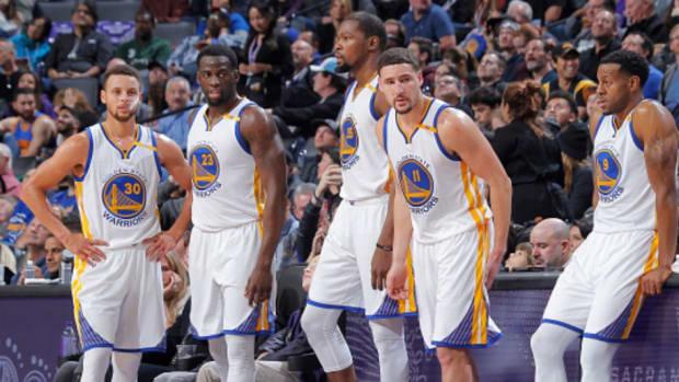 Stephen-Curry-Draymond-Green-Kevin-Durant-Klay-Thompson-Andre-Iguodala-warriors