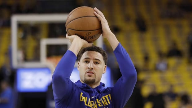 """Moses Moody Couldn't Believe Klay Thompson's Shooting: """"I Sat There And Watched Him Shoot For 20 Minutes, And It Didn't Touch The Rim A Lot"""""""