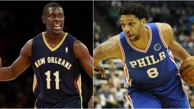 Jahlil Okafor Jrue Holiday NBA Trade Rumors