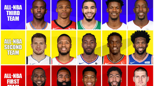 Predicting The All-NBA Teams: Giannis And LeBron Headline The All-NBA First Team