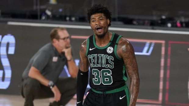 Marcus Smart Has Higher 3-Point Percentage Than Luka Doncic, Trae Young, PJ Tucker, And Devin Booker In The Last Three Seasons
