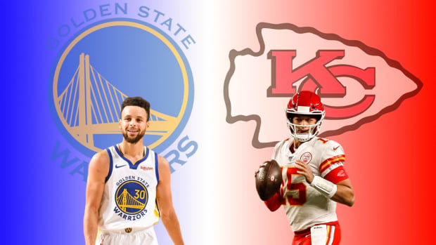 """Steph Curry Says Patrick Mahomes Is Very Similar To Him: """"I See A Lot Of Myself In Him, Obviously There's Been A Lot Of Comparisons. Just That Creativity. You Can't Blink Or You'll Miss Something Special."""""""