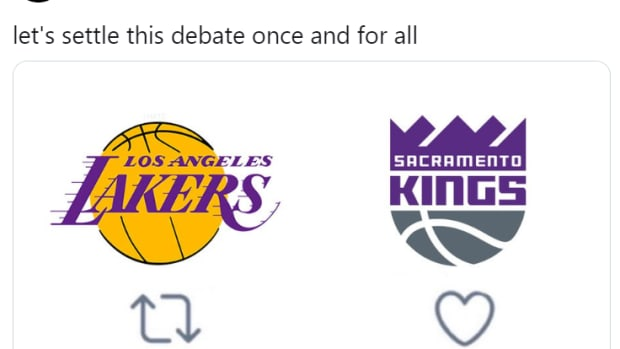 The Kings Twitter Sets A Nice Trap For The Lakers Fans And They Didn't Notice The Trick