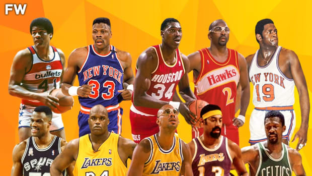 Ranking The Top 25 Greatest Centers Of All Time