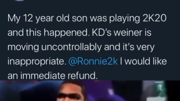 NBA Fan Wants Refund From NBA 2K After Watching Inappropriate Video Of Kevin Durant