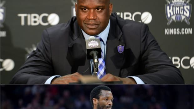 Shaquille O'Neal Clowns One Of His Own Players On National Television