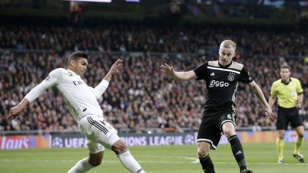 Donny Van De Beek Real Madrid