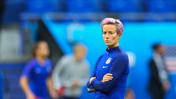 Megan Rapinoe Asks FIFA President To 'Take Action' On Equal Pay After Winning World Cup