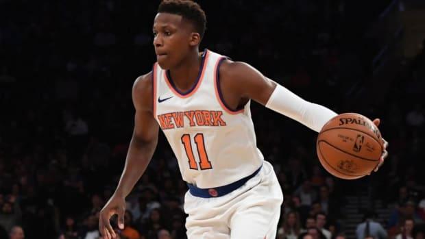 NBA Rumors: Orlando Magic And Phoenix Suns Expressing Interest In Knicks' Frank Ntilikina