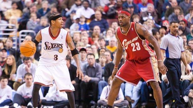 Allen Iverson LeBron James
