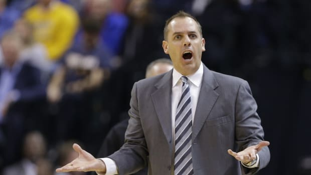 """Frank Vogel Not Happy With The Los Angeles Lakers After They Blew A 26-Point Lead Against The Thunder: """"You Can't Ever Take Your Foot Off The Gas Against Anyone."""""""