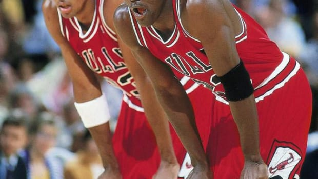 If Pippen Carried Michael Jordan Past His 1-9 Record, Does That Mean Larry Hughes Carried LeBron James To The Playoffs?