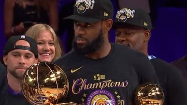 """LeBron James Wins Reacts After Winning His Fourth Finals MVP: """"I Want My Damn Respect Too."""""""