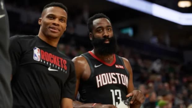 "James Harden Explains The Importance Of Russell Westbrook For The Rockets: ""We Just Need Him"""