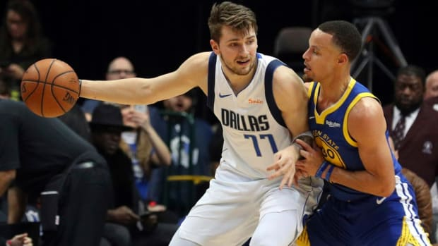 Tracy McGrady Says Luka Doncic's All-Star Votes 'Disrespectful' To Stephen Curry, James Harden