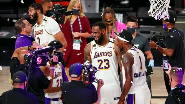 LeBron James' Coach And Teammates Call Him The GOAT After Winning 4th NBA Championship