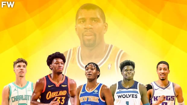 Magic Johnson Reveals His Early Picks For 2021 Rookie of the Year Award