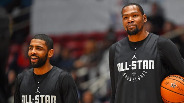 "Kevin Durant: ""Kyrie Irving Is Better Than Allen Iverson To Me."""
