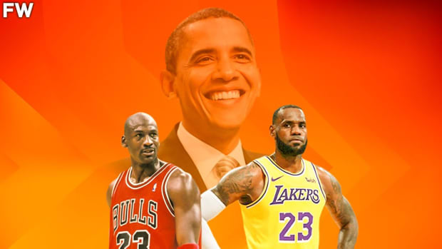 "Barack Obama On Who Is The GOAT Between LeBron James And Michael Jordan: ""LeBron James Is Not Quite There. We Don't Know How Many More Rings He Might Win."""