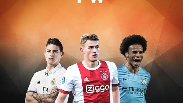 Latest Soccer Transfer Rumors: Leroy Sane, Matthijs De Ligt And James Rodriguez