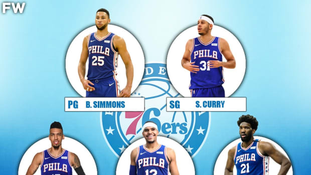 The 2020-21 Projected Starting Lineup For The Philadelphia 76ers