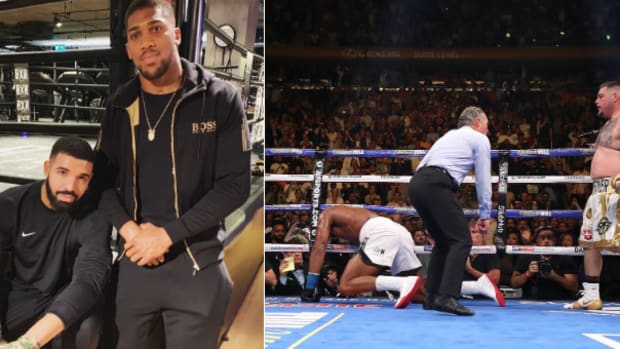 The 'Drake Curse' Continues After Anthony Joshua's KO